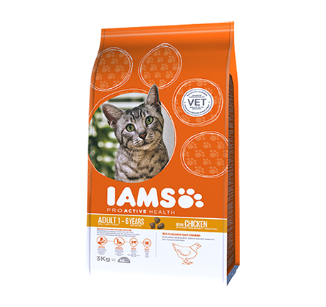 Iams® PROACTIVE HEALTH Adult Rich in Succulent Roast Chicken