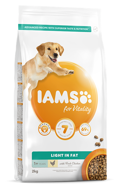 Krmivo pro psy IAMS for Vitality Light In Fat